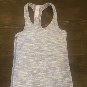 Ivivva by Lululemon Girls Racer Back Tank Sz 8